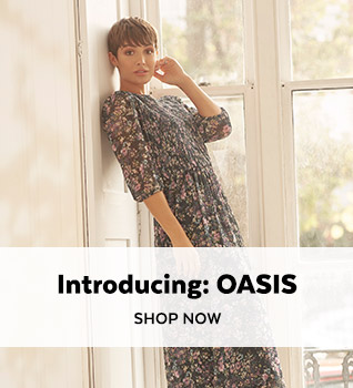 Introducing OASIS. Shop Now.