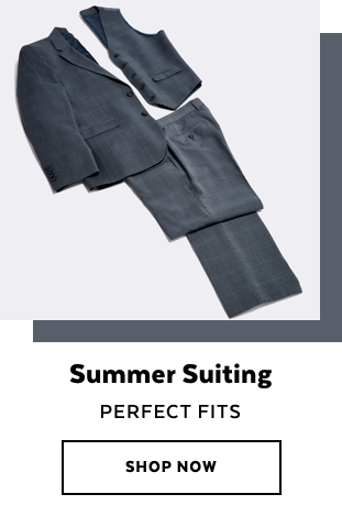 Mens Summer Suiting