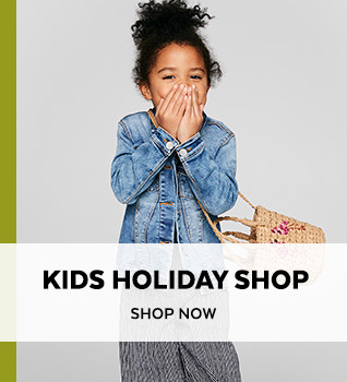 Kids Holiday Shop. Shop Now.