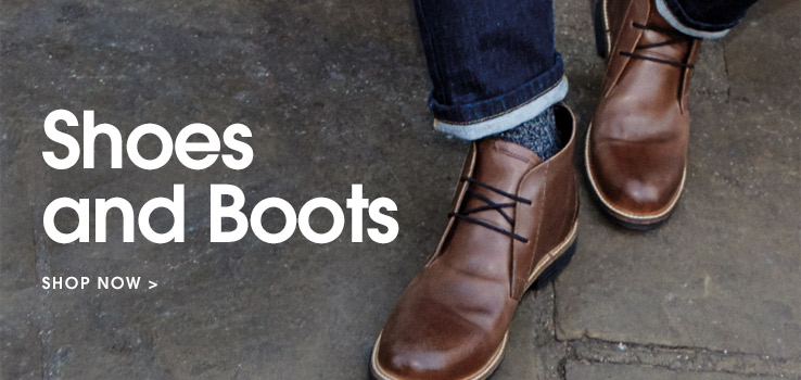 Shoes and boots. Shop now.