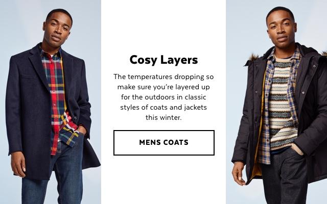 Mens Coats & Jackets
