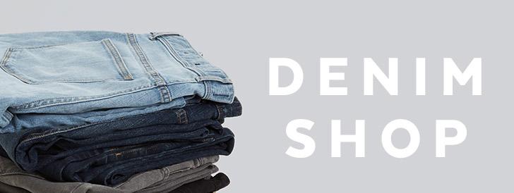 Mens Denim. Shop Now.