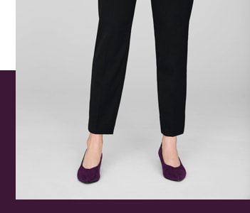 Slim Legged Trousers Cut
