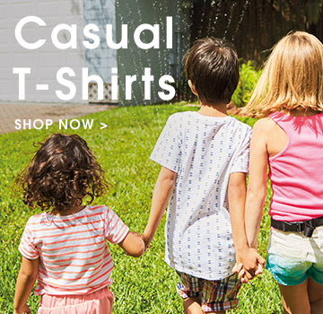casual tshirts. shop now.
