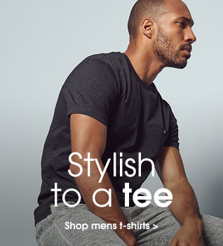 Stylish to a tee. Shop mens tshirts.