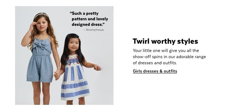 Girls dresses & jumpsuits