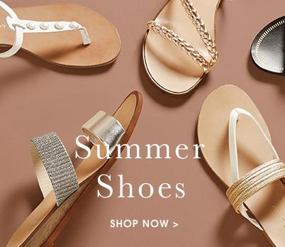 Summer Shoes. Shop now.