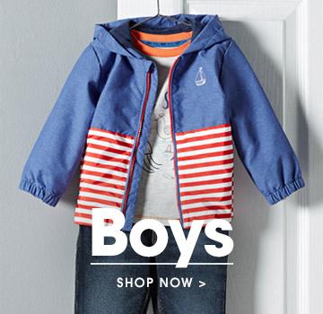 Boys. Shop now.