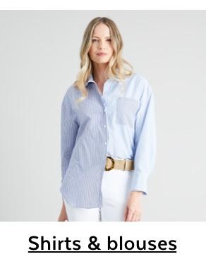 Womens Shirts & Blouses