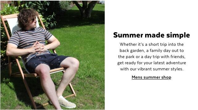 Mens summer shop