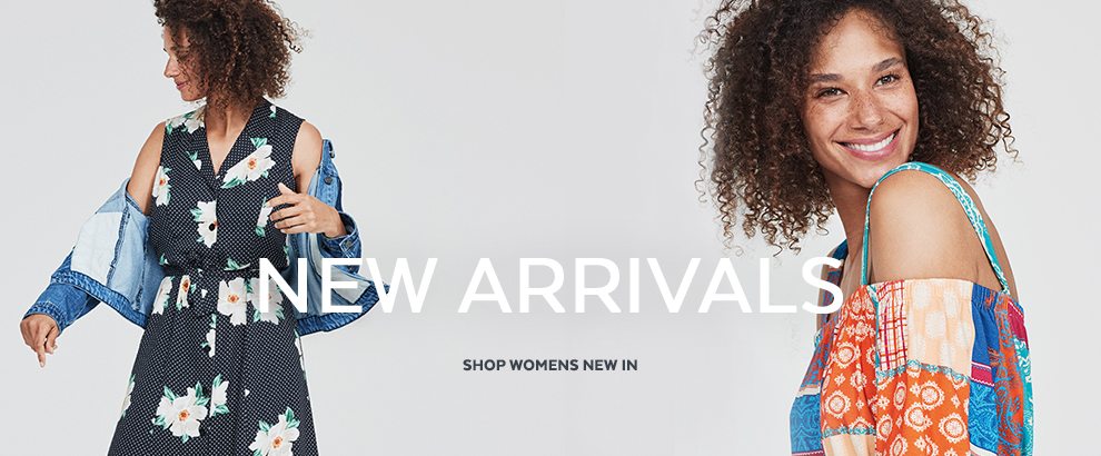 New arrivals. Shop womens new in
