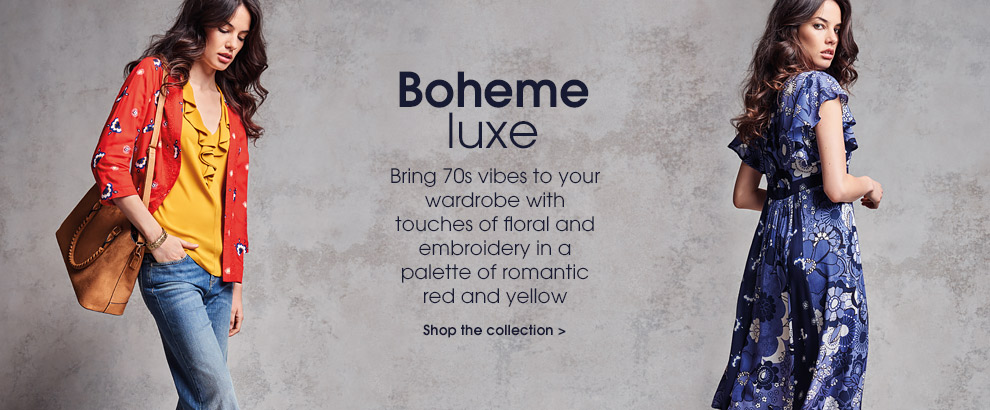 Boheme Luxe. Shop the look.