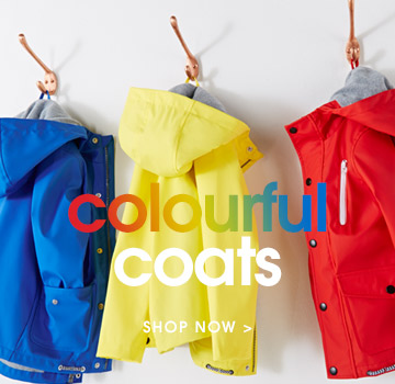 colourful coats. shop now.