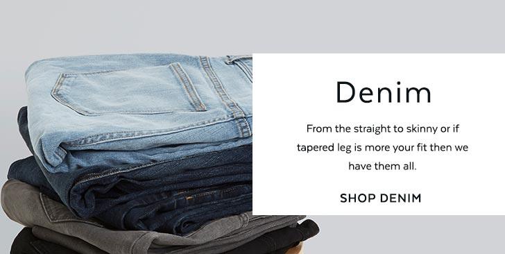 Men's Denim Jeans. Shop now.
