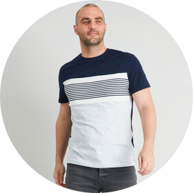 Striped & Printed T-shirts