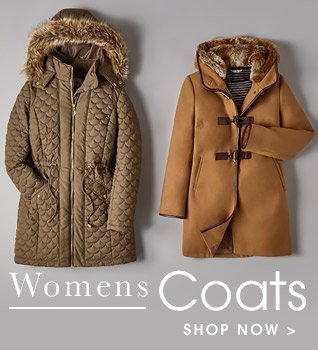 Womens coats. Shop now.