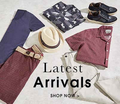 Latest Arrivals. Shop now.
