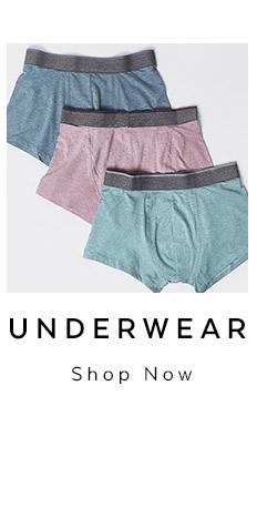 Mens Underwear. Shop Now.