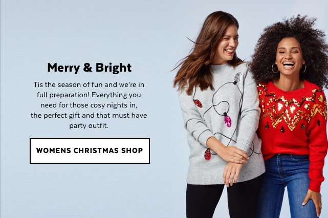 Womens Christmas Shop