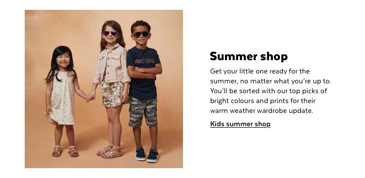 Kids summer shop
