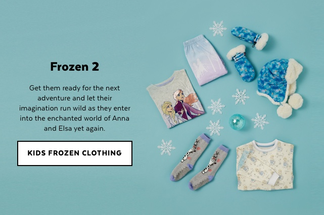 Kids Frozen Clothing
