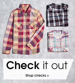 Check it out. Shop checks