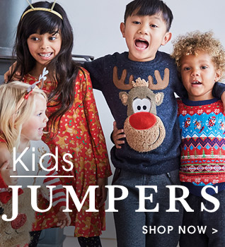Kids Jumpers. Shop Now.