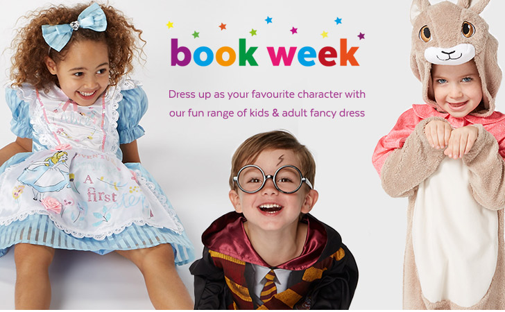 Book week. Shop your favourite characters