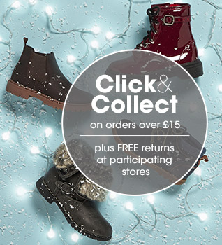 Free click and collect on orders above £15, click here for details