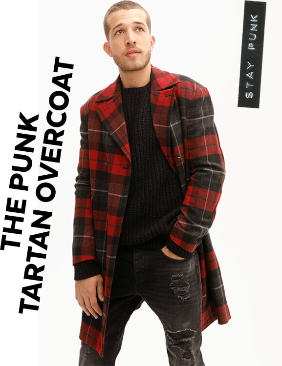 TU GFW The Punk Tarttan Overcoat
