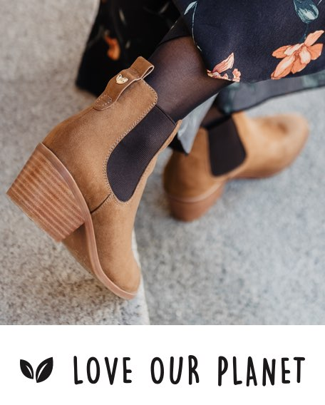 Love Our Planet Womens Footwear