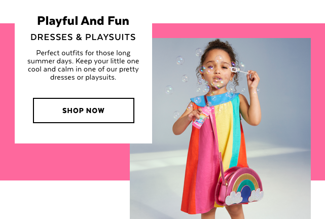Girls Dresses & Playsuits