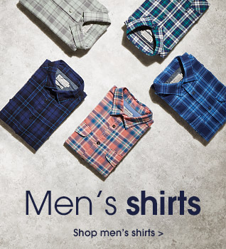 Men's shirts. Shop men's shirts.