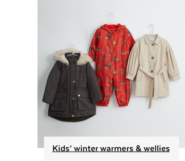 Kids Winter Warmers and Wellies