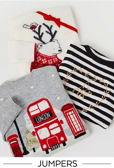 Christmas Jumpers, shop now