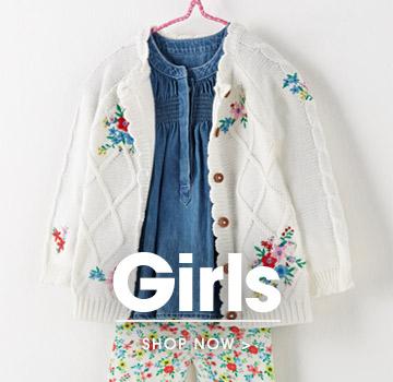 Girls. Shop now.
