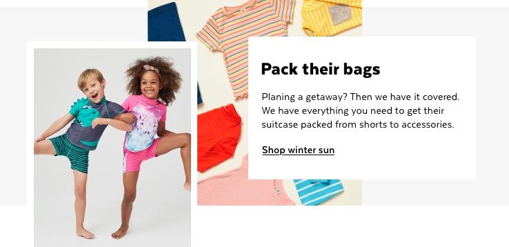 Kids Winter Sun