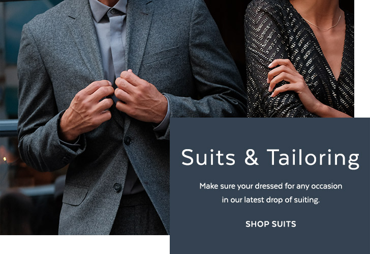 Mens Suits & Tailoring