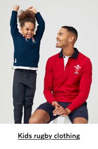 Kids Rugby Clothing