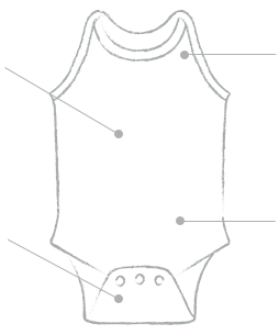 Bodysuit Diagram