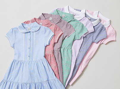 Girls School Gingham