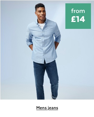 Mens jeans from £14