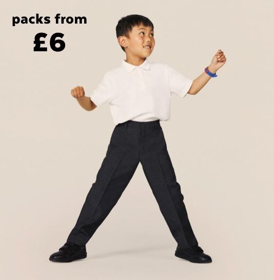 School Wear Trousers & Shorts