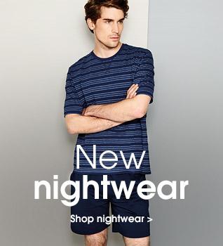 New nightwear. Shop nightwear.