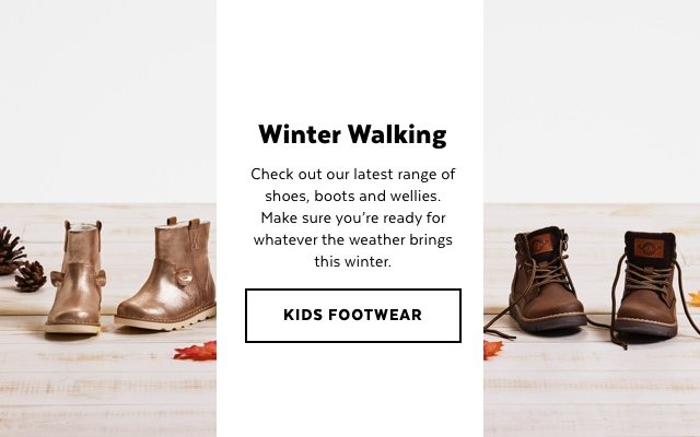 Kids Shoes & Boots