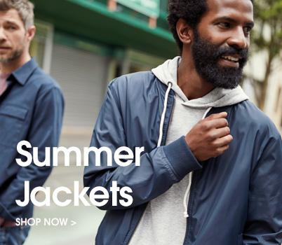 summer jackets. shop now.