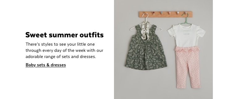 Baby sets & dresses