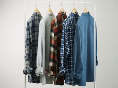 Mens Plaid Summer Shirt Brown Neutral Casual Short Sleeve L