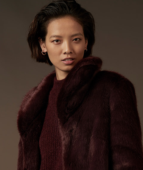 Tu Clothing Womens Premium Faux fur Coat