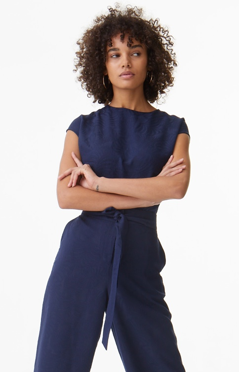 Womens Navy Coord
